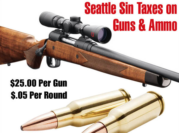 Seattle Sales Tax 2017 >> As Gun Violence Surges In Seattle Gun Sales Tax Is A Total Bust