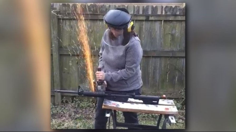ATF Investigating After Congressional Candidate Cuts AR-15 Barrel on